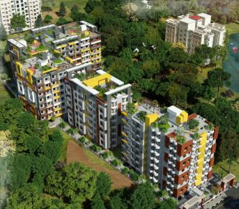Gallery Cover Image of 1011 Sq.ft 3 BHK Apartment for buy in Abhi Amba Tower, Gorgawan for 3682000
