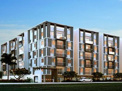 Gallery Cover Image of 620 Sq.ft 1 BHK Apartment for buy in Muppa's Aaradhya, Narsingi for 3500000