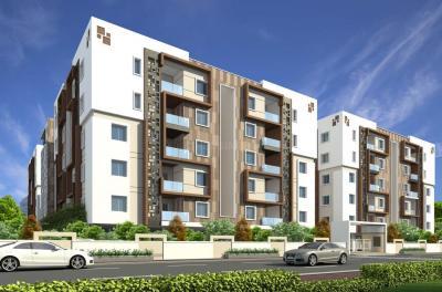 Gallery Cover Image of 1211 Sq.ft 2 BHK Apartment for buy in Saanvee Civitas, Sanath Nagar for 8500000