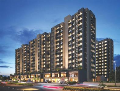 Gallery Cover Image of 1436 Sq.ft 3 BHK Apartment for buy in Swati Chrysantha, Shela for 5800000