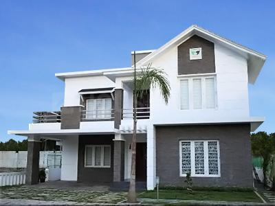Gallery Cover Image of 3033 Sq.ft 4 BHK Villa for rent in Tulsi Blu Rain Water Front, Thottakkattukara for 35000