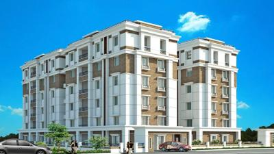 Gallery Cover Image of 3250 Sq.ft 3 BHK Apartment for rent in Vamsiram Jyothi Crest, Kothaguda for 40000
