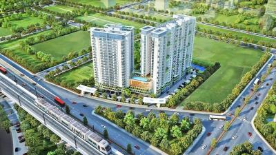 Gallery Cover Image of 923 Sq.ft 1 BHK Apartment for buy in One Rajarhat, New Town for 8500000