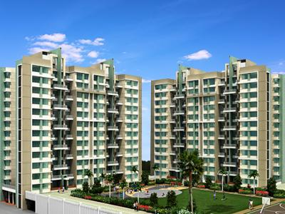 Gallery Cover Image of 1520 Sq.ft 2 BHK Apartment for buy in Pride Purple Park Turquoise, Wakad for 11000000