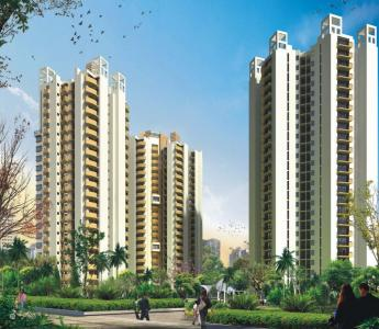 Gallery Cover Image of 1050 Sq.ft 2 BHK Apartment for buy in The Nest, Crossings Republik for 3150000