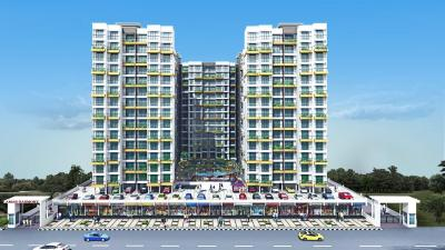 Gallery Cover Image of 670 Sq.ft 1 BHK Apartment for buy in Gami Amar Harmony, Taloja for 4500000