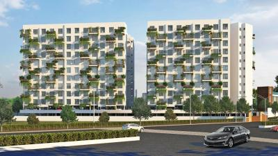 Gallery Cover Image of 898 Sq.ft 2 BHK Apartment for rent in Samrat Green Republic, Wagholi for 12500