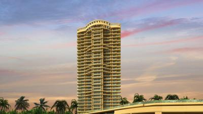 Gallery Cover Image of 1400 Sq.ft 2 BHK Apartment for buy in Sunteck Signia Oceans, Airoli for 18000000