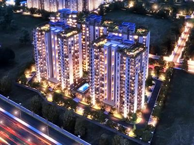 Gallery Cover Image of 1970 Sq.ft 4 BHK Apartment for buy in Ramprastha Platinum Sky Residency, Vaishali for 21500000