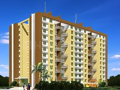 Gallery Cover Image of 1075 Sq.ft 2 BHK Apartment for buy in Pride Purple Park Express Phase II, Baner for 8000000