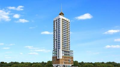 Gallery Cover Image of 710 Sq.ft 1 BHK Apartment for rent in Sai Baba Panchpakhandi Jewel, Thane West for 16500