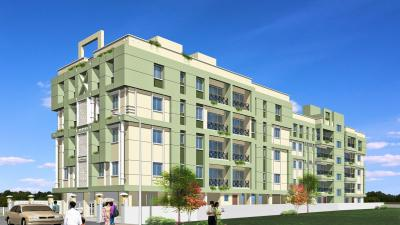 Gallery Cover Image of 550 Sq.ft 1 BHK Apartment for rent in Rabindra Dunlop Residency, Dunlop for 2500