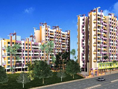 Gallery Cover Image of 810 Sq.ft 2 BHK Apartment for buy in Gopal Krishna Paradise, Kalyan East for 5100000