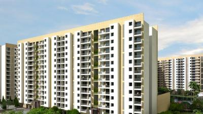Gallery Cover Image of 870 Sq.ft 2 BHK Apartment for rent in Emami City, South Dum Dum for 7500