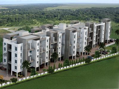 Gallery Cover Image of 870 Sq.ft 1 BHK Independent House for buy in Lotus Grace, Dhanori for 5200000