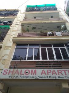 Gallery Cover Image of 400 Sq.ft 1 BHK Apartment for rent in Shalom Apartment, Mehrauli for 10000