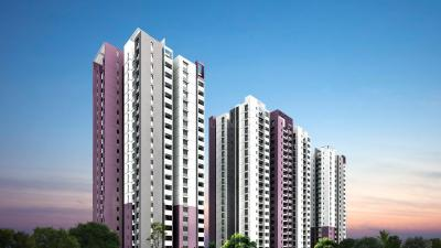 Gallery Cover Image of 1215 Sq.ft 3 BHK Apartment for buy in Prajay Megapolis, Kukatpally for 9500000