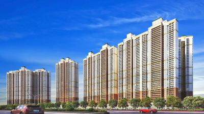 Gallery Cover Image of 1160 Sq.ft 2 BHK Apartment for buy in Paradise Sai World City, Panvel for 10400000