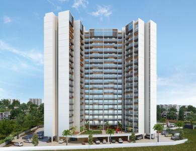 Gallery Cover Image of 650 Sq.ft 1 BHK Apartment for buy in Om Paraiso, Padle Gaon for 3900000