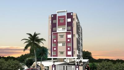 Gallery Cover Image of 900 Sq.ft 2 BHK Apartment for buy in Sai Samyuktha Builders GNR Oaks Valley, Malakpet for 4000000