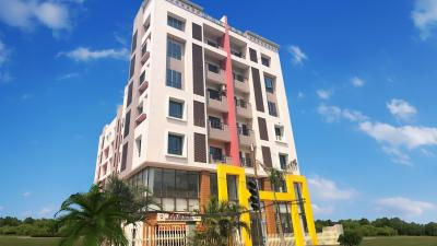 Gallery Cover Image of 1261 Sq.ft 3 BHK Apartment for rent in Ajmir Apartment, Beliaghata for 30000