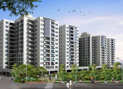 Gallery Cover Image of 960 Sq.ft 2 BHK Apartment for buy in Pride Purple Park Street, Wakad for 7500000