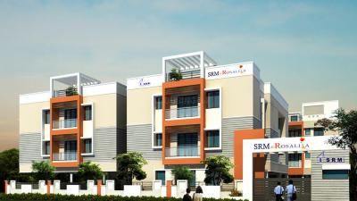 Gallery Cover Image of 1234 Sq.ft 3 BHK Apartment for buy in SRM Rosalia, Vengaivasal for 5800000