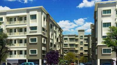 Gallery Cover Image of 1250 Sq.ft 3 BHK Apartment for rent in Aspirations Serenity, Kustia for 30000