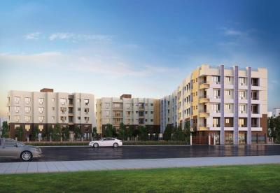 Gallery Cover Image of 603 Sq.ft 1 BHK Apartment for buy in JMC Arcadia, Birati for 1930000