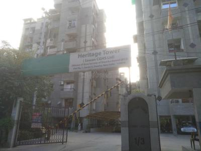 Gallery Cover Image of 1850 Sq.ft 3 BHK Apartment for rent in Heritage Tower, Sector 3 Dwarka for 27000