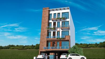 Gallery Cover Image of 1000 Sq.ft 2 BHK Apartment for rent in Balaji Homes, Sector 13 Rohini for 25000