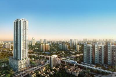 Gallery Cover Image of 1500 Sq.ft 2 BHK Apartment for buy in Avighna IX Building No 4, Parel for 58000000