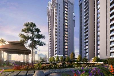 Gallery Cover Image of 2238 Sq.ft 3 BHK Apartment for rent in Zen, Topsia for 55000