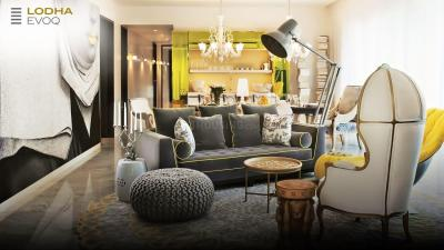 Gallery Cover Image of 2650 Sq.ft 4 BHK Apartment for buy in Lodha New Cuffe parade Lodha Evoq, Sion for 90000000