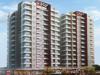 Gallery Cover Image of 850 Sq.ft 1 BHK Apartment for rent in PNK Group Winstone, Mira Road East for 18000