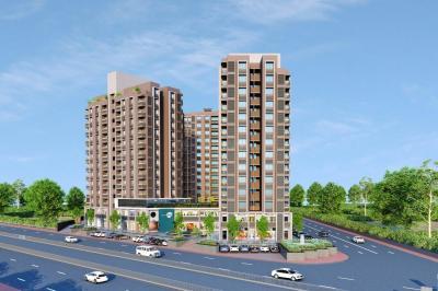 Gallery Cover Image of 1575 Sq.ft 3 BHK Apartment for buy in Rajvi Opal, Memnagar for 9600000