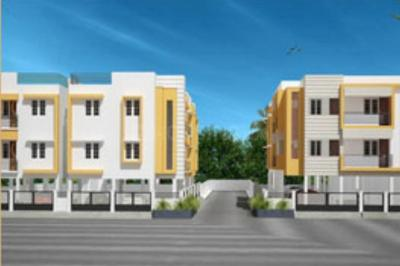 Gallery Cover Image of 786 Sq.ft 2 BHK Apartment for rent in Sumangali Vasantham, Perumbakkam for 15900
