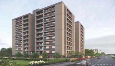 Gallery Cover Image of 1179 Sq.ft 2 BHK Apartment for buy in Pushkar Residency, Jasodanagr for 3400000