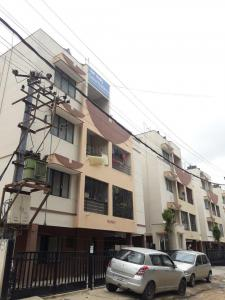 Gallery Cover Image of 1200 Sq.ft 3 BHK Apartment for rent in Gaana Residency, Kumaraswamy Layout for 15000