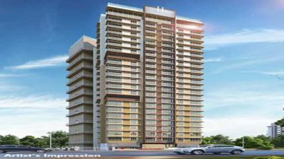 Gallery Cover Image of 600 Sq.ft 1 BHK Apartment for rent in Romell Empress, Borivali West for 22000