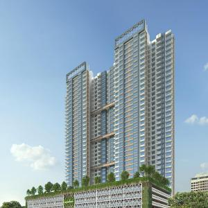Gallery Cover Image of 900 Sq.ft 3 BHK Apartment for buy in Wadhwa TW Gardens, Kandivali East for 16900000