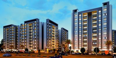 Gallery Cover Image of 1650 Sq.ft 3 BHK Apartment for buy in Shubham Green City, Bagwada for 4400000