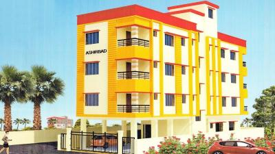 Gallery Cover Image of 500 Sq.ft 1 BHK Apartment for rent in AM Ashirbad, Joka for 12000