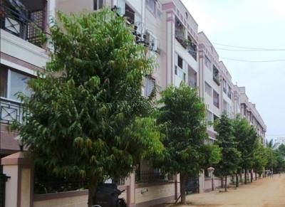 Gallery Cover Image of 1500 Sq.ft 3 BHK Apartment for rent in Abhinav Golden Palms, Kaggadasapura for 28000