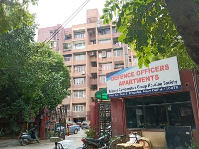 Gallery Cover Image of 1300 Sq.ft 2 BHK Apartment for rent in Defence Officers Apartments, Sector 4 Dwarka for 23000