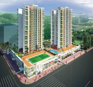 Gallery Cover Image of 1150 Sq.ft 2 BHK Apartment for buy in VS Empire Estate, Kharghar for 15000000