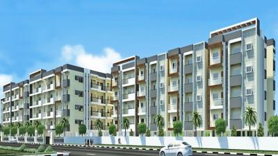 Gallery Cover Image of 1680 Sq.ft 3 BHK Apartment for buy in Greenaly Signature, Hulimavu for 10600000