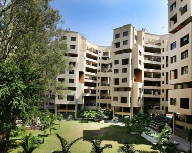 Gallery Cover Image of 1450 Sq.ft 3 BHK Apartment for rent in Mittal Treedom Park, Kalas for 23000