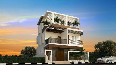 Gallery Cover Image of 1400 Sq.ft 3 BHK Apartment for rent in Vaikund Sundaram Apartment, Karapakkam for 18000