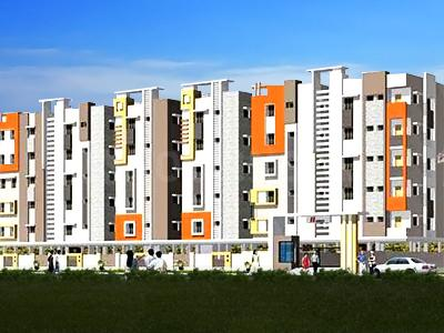 Gallery Cover Image of 973 Sq.ft 2 BHK Apartment for buy in Town Centre, Mokila for 3950000